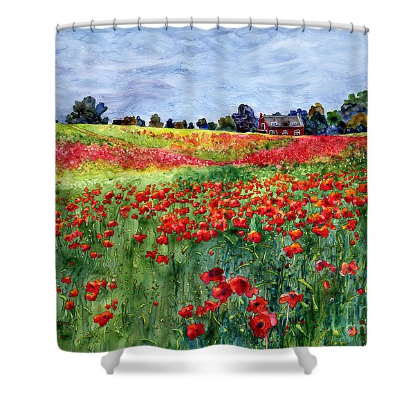 Red Carpet Shower Curtain