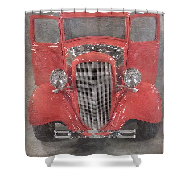 Red Hot Baby Shower Curtain