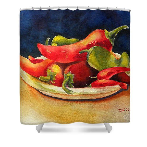 Red Hot Chile Peppers Shower Curtain