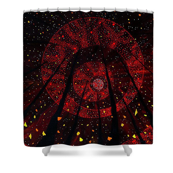 Red October Shower Curtain
