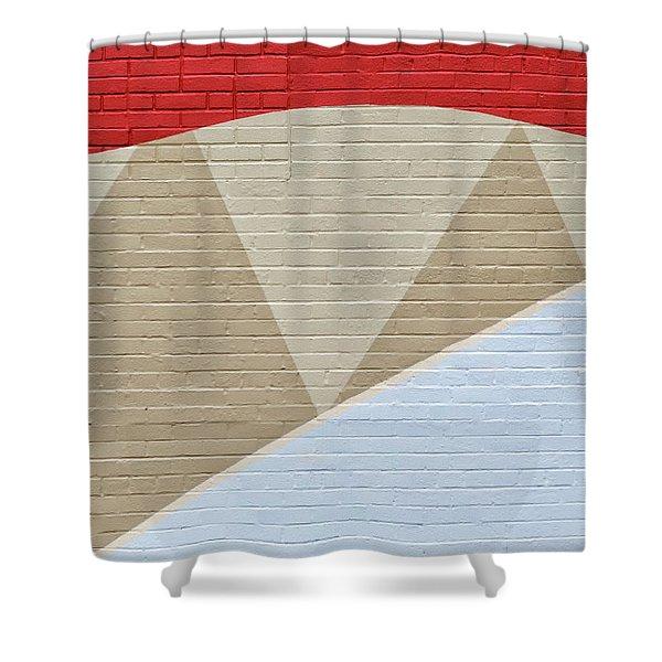 U-haul Art Shower Curtain