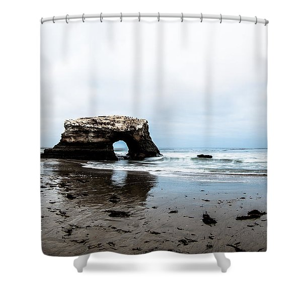 Redo Of Natural Bridges Shower Curtain