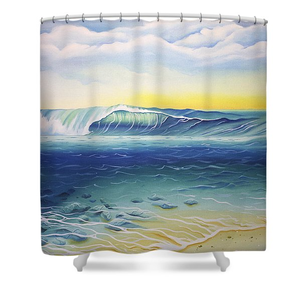 Reef Bowl Shower Curtain