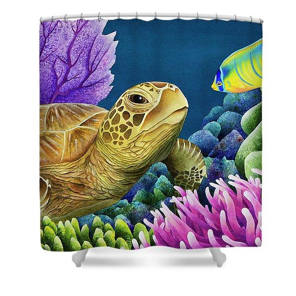 Reef Buddies Shower Curtain