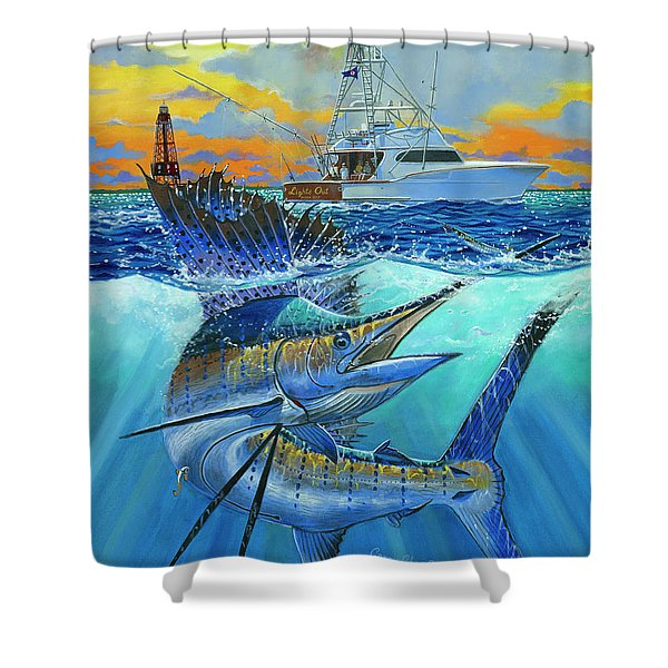 Reef Cup 2017 Shower Curtain