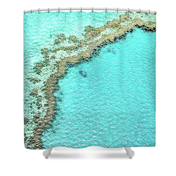 Reef Textures Shower Curtain