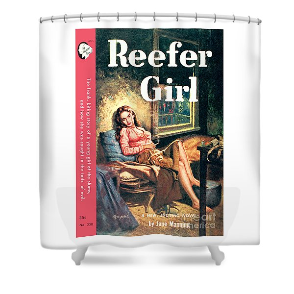 Reefer Gilr Shower Curtain