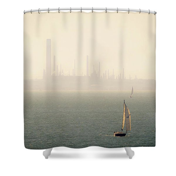 Refined Mists Shower Curtain