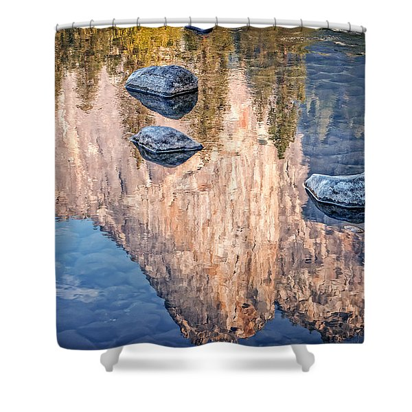 Reflected Majesty Shower Curtain
