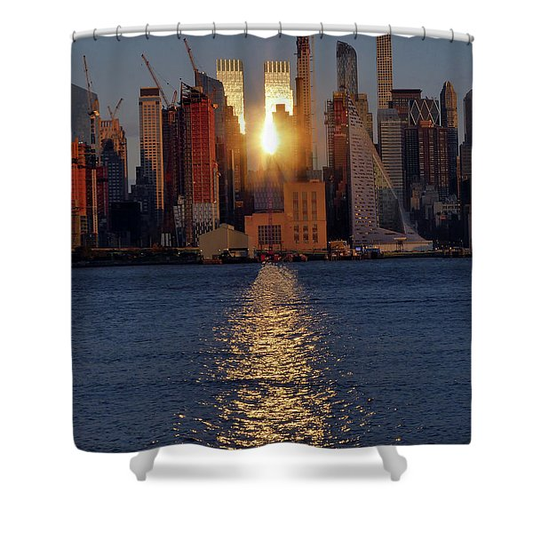 Reflected Sunset Shower Curtain
