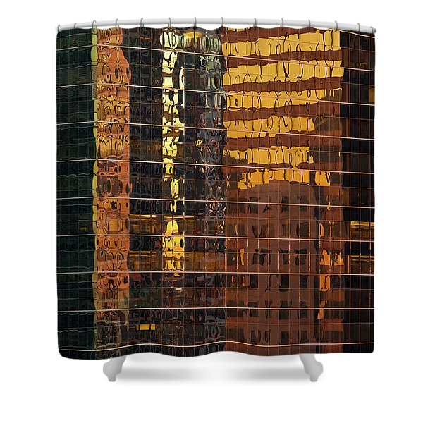 Reflecting Chicago Shower Curtain