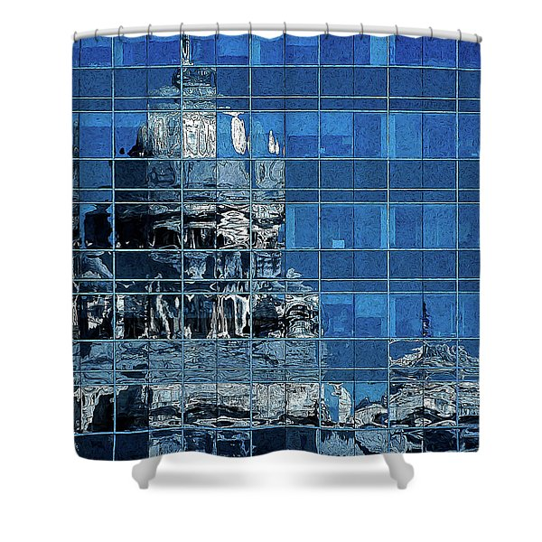 Reflection And Refraction Shower Curtain