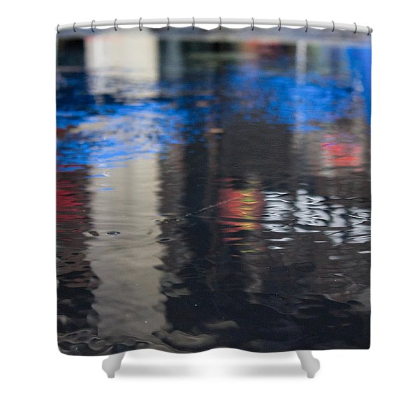 Shower Curtain featuring the photograph Reflections by Break The Silhouette