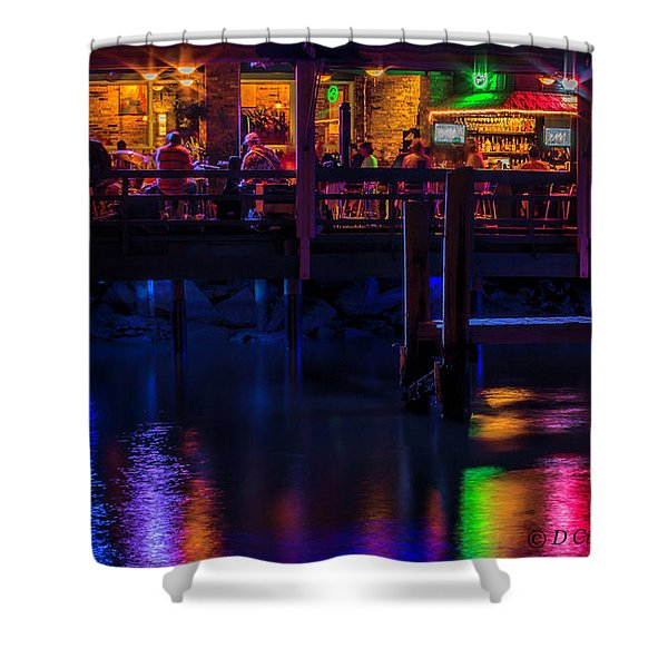 Reflections From Riverview Grill Shower Curtain