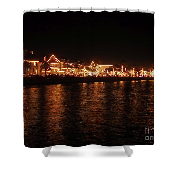 Reflections In The Bay Shower Curtain
