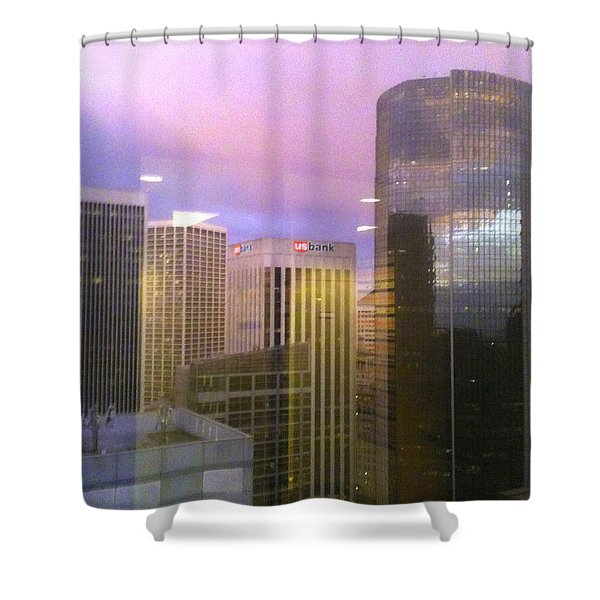 Reflections Looking East Shower Curtain