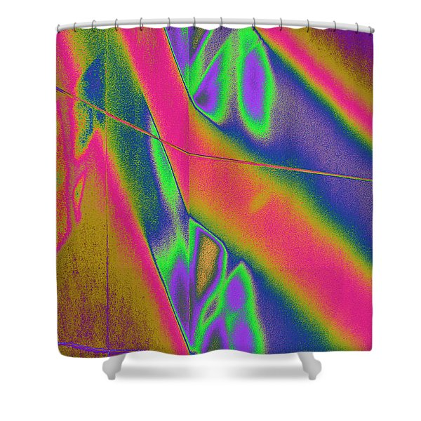 Reflections Of A Different Color Shower Curtain