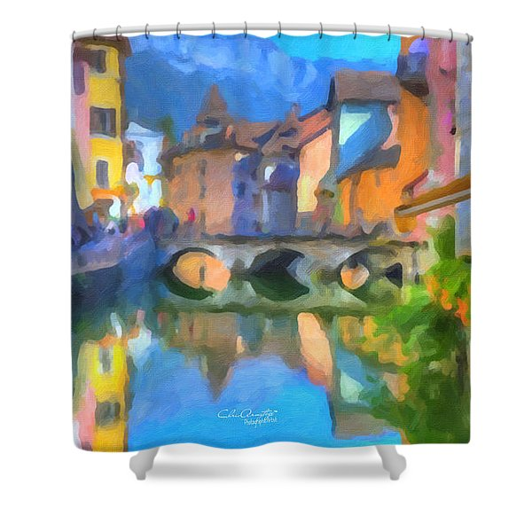 Reflections Of Eze Shower Curtain