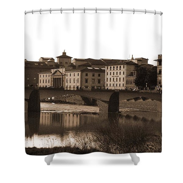 Reflections Of Florence Shower Curtain