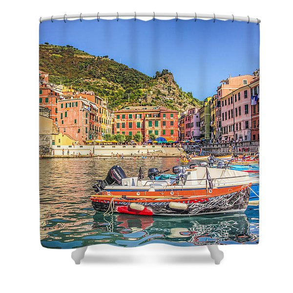 Reflections Of Italy Shower Curtain