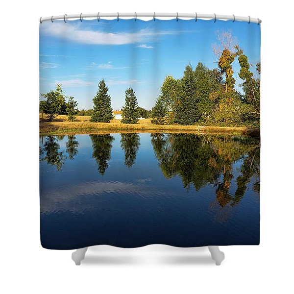 Reflections Of Life Shower Curtain