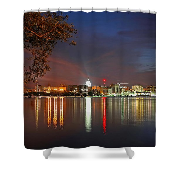 Reflections Of Madison Shower Curtain