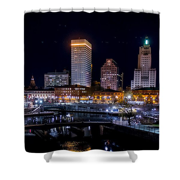 Reflections Of Providence Shower Curtain