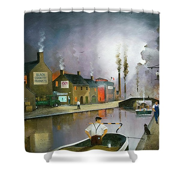 Reflections Of The Black Country Shower Curtain