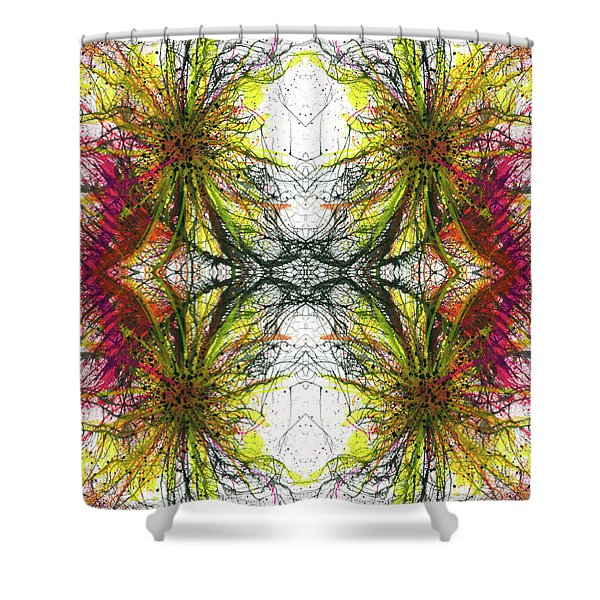 Reflections Of The Inner Light #1513 Shower Curtain