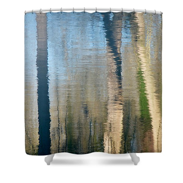 Reflet Rhodanien Pastel 2 Shower Curtain