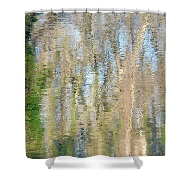 Reflet Rhodanien Pastel 3 Shower Curtain