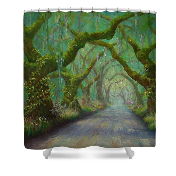 Regalia Shower Curtain