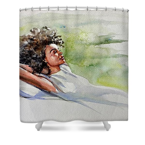 Relaxing Afternoon Shower Curtain