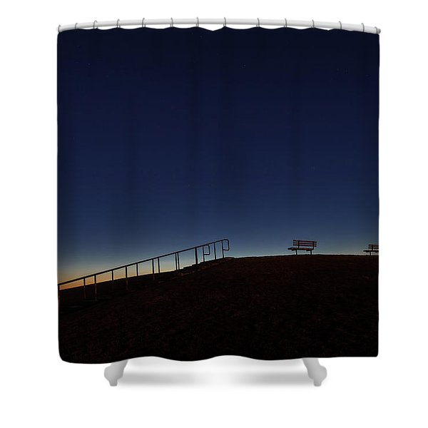 Relaxing Morning Shower Curtain