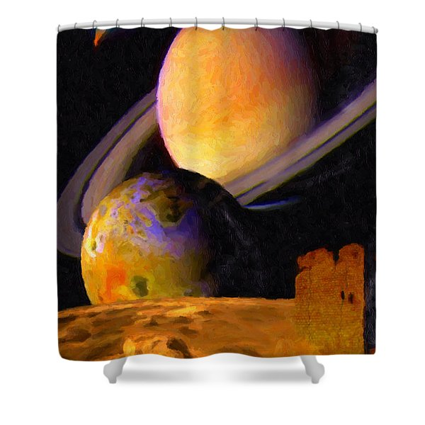 Relic Shower Curtain