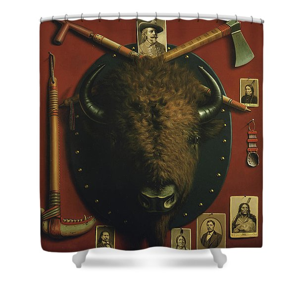 Relics Of The Past Shower Curtain