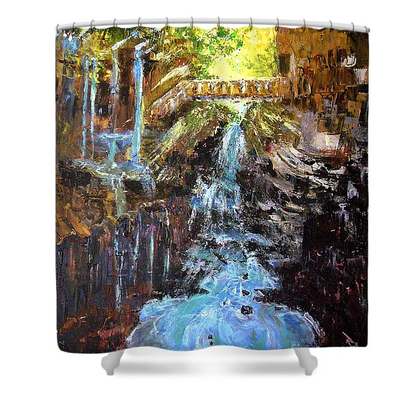 Relics Shower Curtain