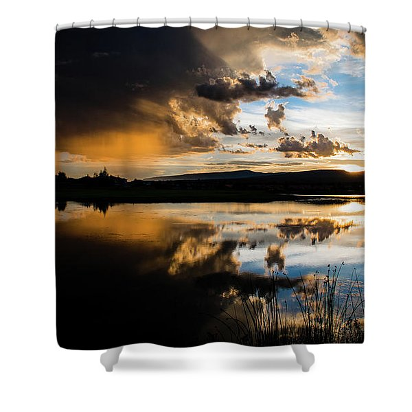 Shower Curtain featuring the photograph Remains Untrusted by Jason Coward