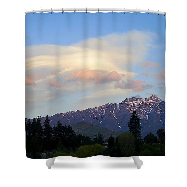 The Remarkables Shower Curtain