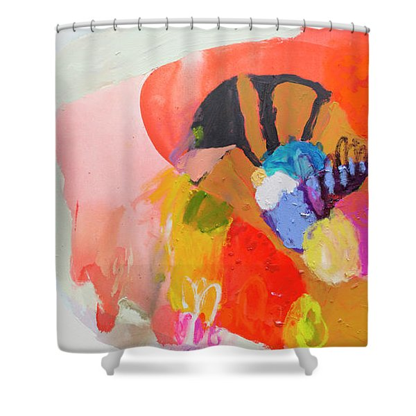 Remember To Feed The Fish Shower Curtain