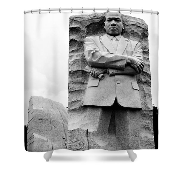 Remembering Mr. King Shower Curtain