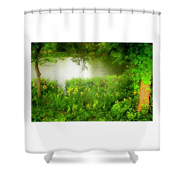 Remembering Springtime Shower Curtain