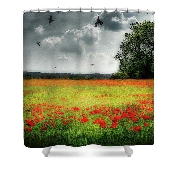 Remember #rememberanceday #remember Shower Curtain