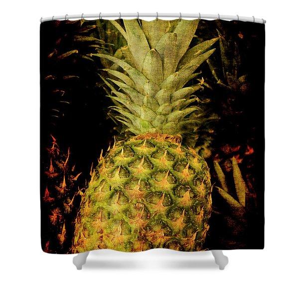 Renaissance Pineapple Shower Curtain