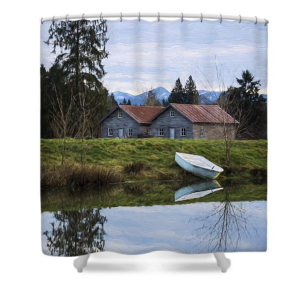 Renewed Hope - Hope Valley Art Shower Curtain