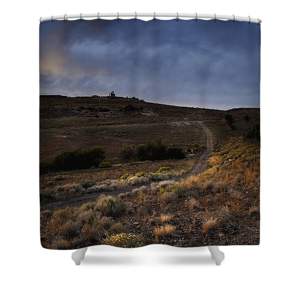 Reno Sunset Shower Curtain