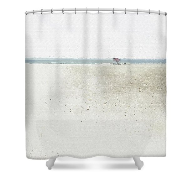 Renourishment Shower Curtain