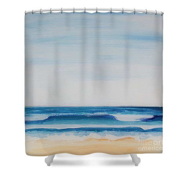 Reoccurring Theme Shower Curtain