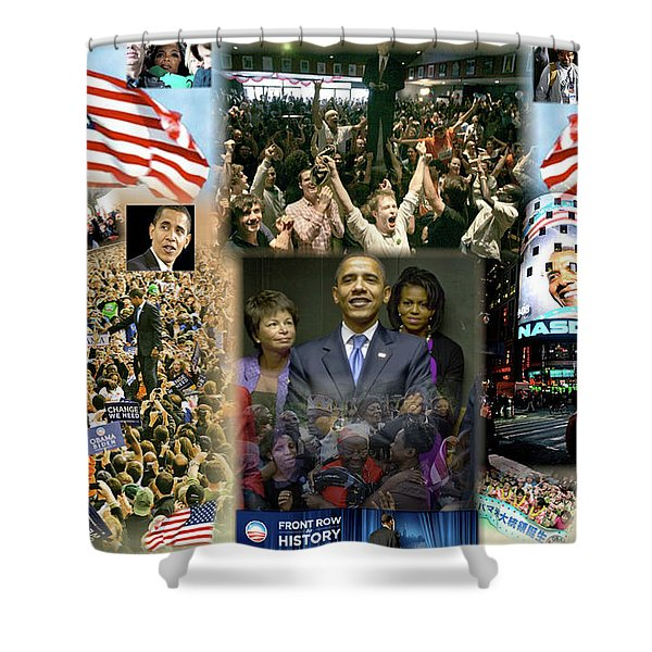 Respectfully Yours..... Mr. President Shower Curtain by Terry Wallace