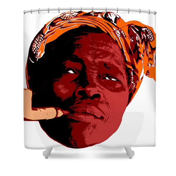 Rest After Work Shower Curtain